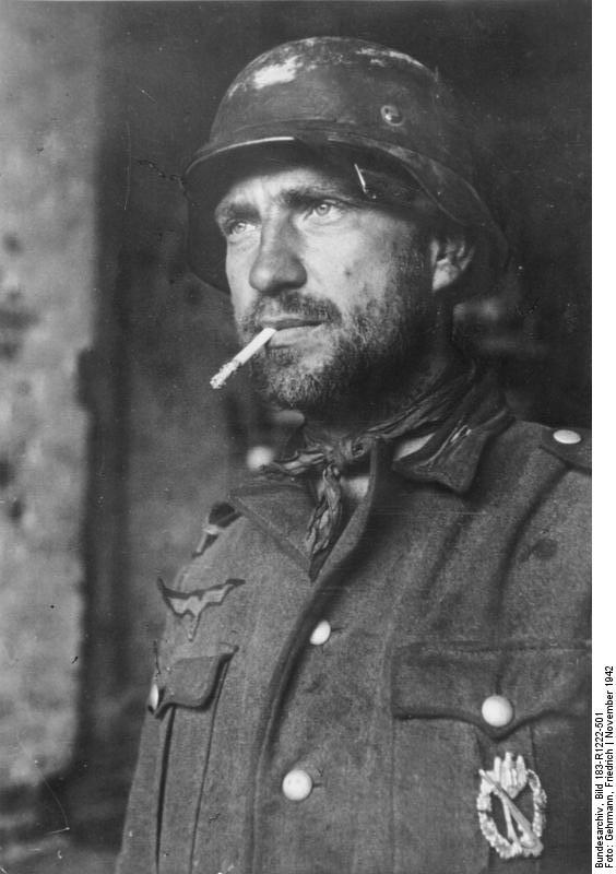 Daily History Picture: Grizzled German Soldier