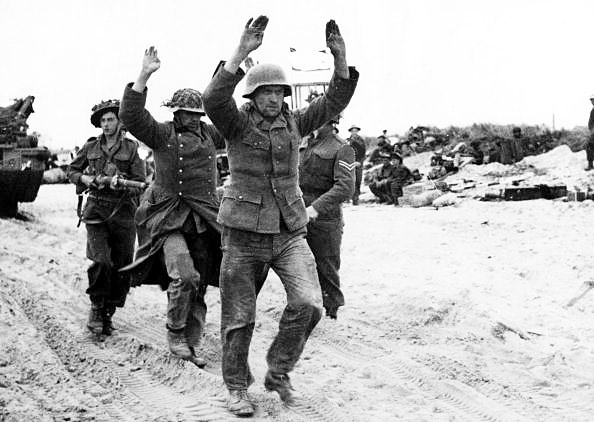 Daily History Picture: German Surrender at Normandy