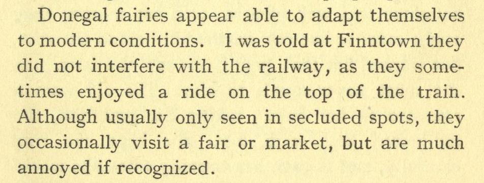Daily History Picture: Train Fairies
