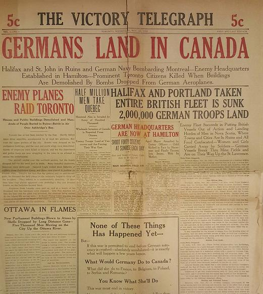 Daily History Picture: Germans Land in Canada