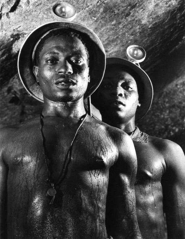 Daily History Picture: Goldminers, South Africa