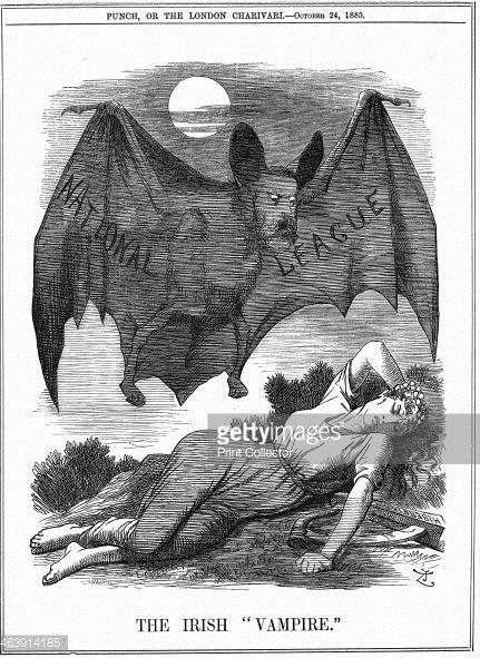 Daily History Picture: Irish Vampire