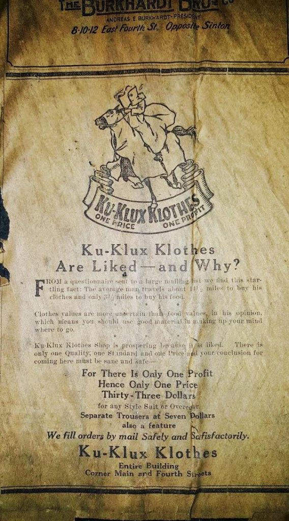 Daily History Picture: Ku Klux Klan Clothes