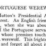 Portuguese Werewolf