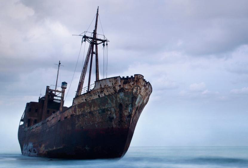 ghost wreck