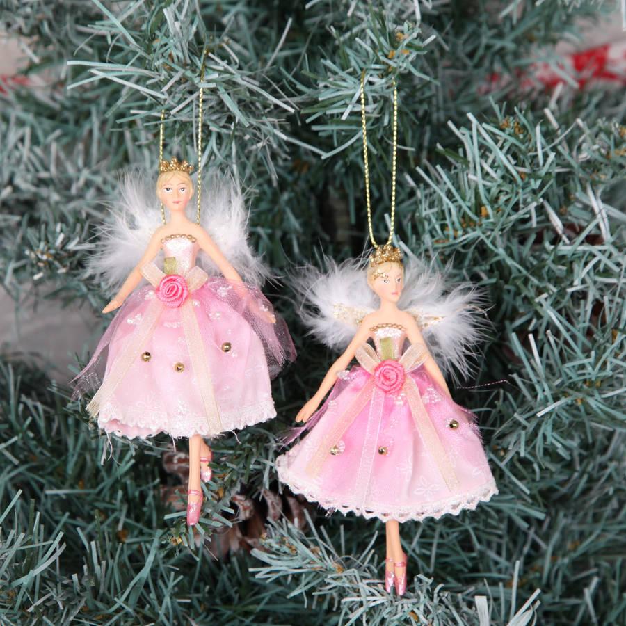 Princess Christmas Tree Decorations