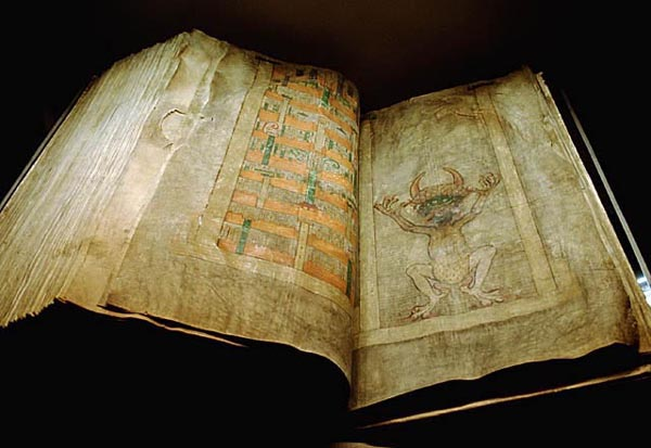 codex gigas with devil